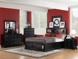 Modern Black Bedroom Sets Bedroom 5 Piece Black Leather Bedroom Sets Combining The