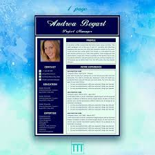 Resume Modern Te Resume Template Instant Download Modern Resume Word Resume Resume