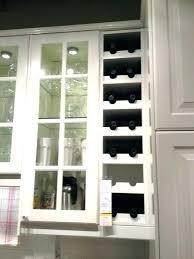 hanging wine rack ikea glass racks wall mount white wood opened built in mo