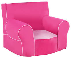 foam chair with handle passion pink with bubblegum pink