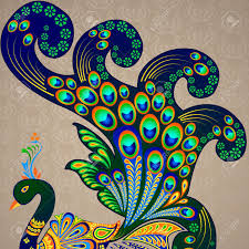 Peacock Design Pictures Colorful Decorated Peacock