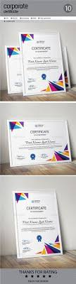 Corporate Certificate Template Cool 48 Best Certificate Templates Images On Pinterest In 48