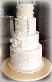 Lace Wedding Cake Tutorial Cakes