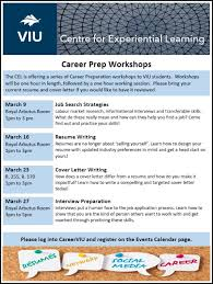 How To Prepare A Resume For An Interview Magnificent CEL Career Prep Workshops Interview Preparation Events VIU
