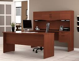 bestar 92850 innova u shaped workstation with hutch pertaining to bestar u shaped desk plan furniture bestar pro linea