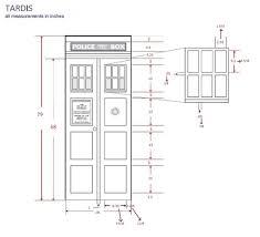 Tardis Design Plans Make Your Own Tardis Door Tardis Door Tardis Door Paint