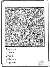 Halloween color by number worksheet. Pin On Adult Coloring Books