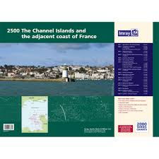 Imray 2000 Series 2500 The Channel Islands And Adjacent Coast Of France Chart Atlas Charts And Publications