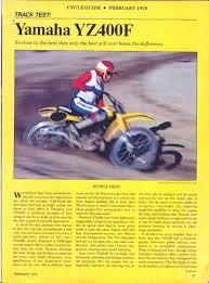 vintage yz info pg 1