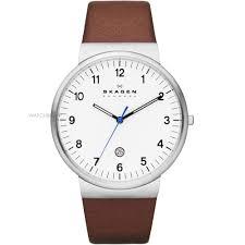 "men s skagen ancher relaxed watch skw6082 watch shop comâ""¢ mens skagen ancher relaxed watch skw6082"