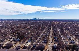 bucking a national trend the twin cities is becoming more dense