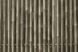 Bamboo Wood Fence Background Stock Image Image of bunch