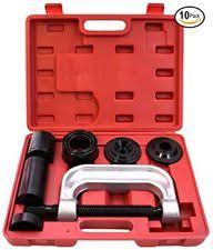 ball joint press tool. rampro ball joint press service repair kit, removal tool set, 2/4 wheel i