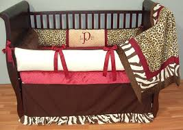 blue and red crib bedding