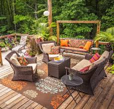 Image Backyard 101999024jpgitoku003dbrtxm9mp Midwest Living 30 Ideas To Dress Up Your Deck Midwest Living