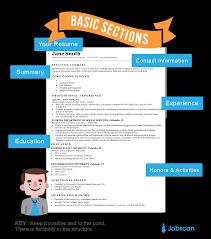 Chronological Resume Template Resume Templates Guide Jobscan 84