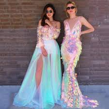 <b>2019 Eightree Sexy</b> Mermaid Prom Dresses ful Sequined Formal ...