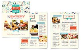 Restaurant Menu Design Templates Family Restaurant Menu Template Design