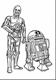 Small Picture R2 D2 Star Wars Coloring Pages Hellokids Com Best Of Starwars