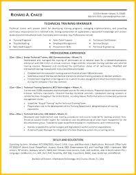 Technical Trainer Resume Trainer Technical Resume Samples Velvet Jobs Functional Resume 5662