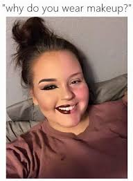 well this is also one of the reasons why s wear makeup even celebs have to wear makeup have a look and please try not to laugh