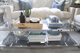 Image Round Coffee Table Decorations Cuckoo4design How To Style Twotier Coffee Table Cuckoo4design