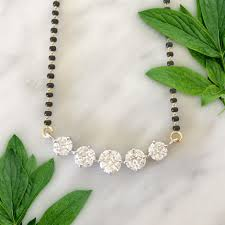 Modern Latest Mangalsutra Designs 2018 Moonshine In 2019 Diamond Mangalsutra Diamond Jewelry