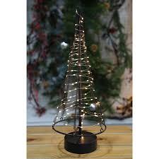Metall Weihnachtsbaum 42cm 85led Dekotanne Tannenbaum Weihnachtsdeko Fensterdeko