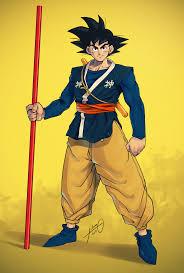 Goku Design Friend Of Mine Made This Gi Design For Young Goku
