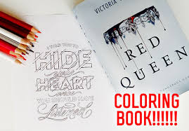 fashionable design ideas red queen the official coloring book amazing a is officially happening