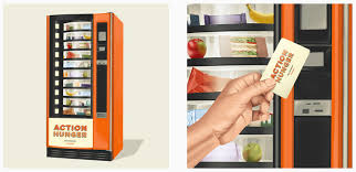How To Get Into A Vending Machine Magnificent Action Hunger's Vending Machine Helps Feed The Homeless The Spoon