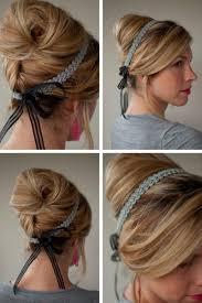 24 Herrliche Ideen F R Effektvolle Frisuren Mit Haarband