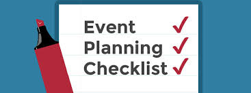 Party Planning Lists Event Planning Checklist Free Download Attendstar Ticketing