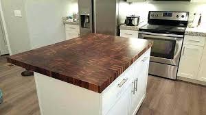 butcher block island tops kitchen wood canada reclaimed countertops walnut in ma appealing custom