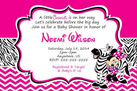 baby shower invitation blank templates baby shower minnie mouse baby shower invitations templates minnie