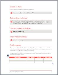 Proposal Template Microsoft Word Custom Bid Templates For Word Bino48terrainsco