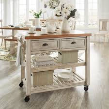Eleanor Two-Tone Rolling Kitchen Island by iNSPIRE Q Classic - Free  Shipping Today - Overstock.com - 20484324