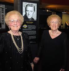 Funeral for Kirk Douglas' sister in Albany