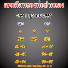 Bloggang.com : cartoonthai - หวยหลวงพ่อปากแดง งวด 1 ตุลาคม 2557 ที่นี่โชคดี  ร่ำรวย