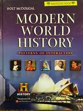 World History Textbook Patterns Of Interaction Amazing History Hardcover Textbooks In English For Sale EBay