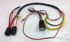 polaris ranger rzr radiator fan bypass harness electrical connection honda gl1200 stator coil charge harness