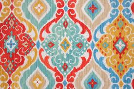 richloom solarium fresca printed poly outdoor fabric in fiesta 8 95 per yard