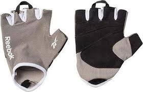 <b>Перчатки</b> для фитнеса <b>Reebok</b>, цвет: <b>серый</b>, размер <b>S</b>/<b>M</b>