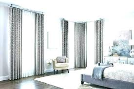 horizontal blinds and curtains. Perfect Horizontal Hanging Curtains Over Horizontal Blinds With Vertical   To And N