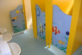 preschool bathroom design. Fun Cubicles Sized To Suit You Preschool Bathroom Design P