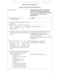 Project Proposal Format Inspiration Technical Writing Proposal Format Technical Writing Proposal Sample