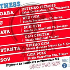 brasov curs instructor aerobic fitness personal trainer