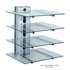 av equipment wall shelf perfect ideas mount glass shelves for components component rless 4 unique design ows60 av wall shelf