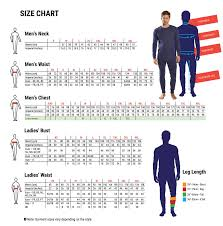 Sign Letter Height Visibility Chart Metric Garment Size
