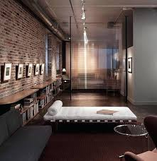 best idea of industrial bedroom ideas with modern brick wall decoration living room decor